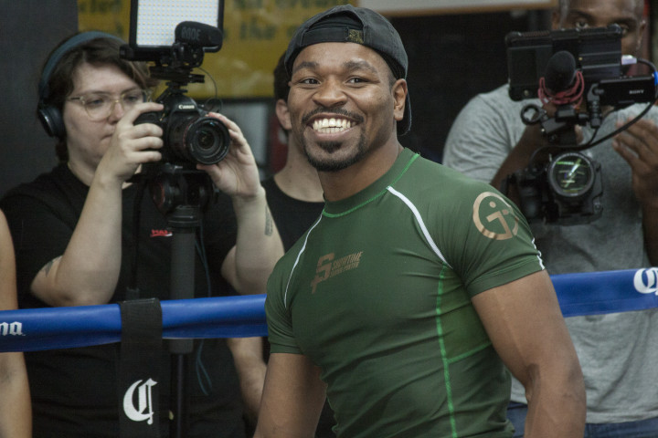 Shawn Porter Workout 2018 Getty