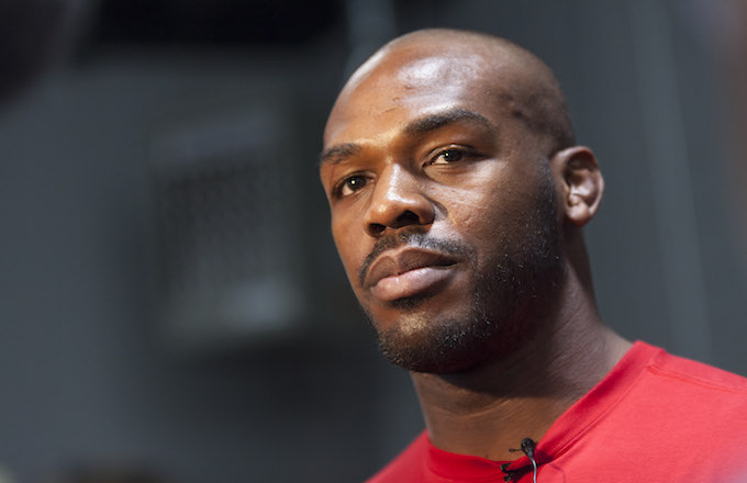 UFC lightweight champion Jon 'Bones' Jones .