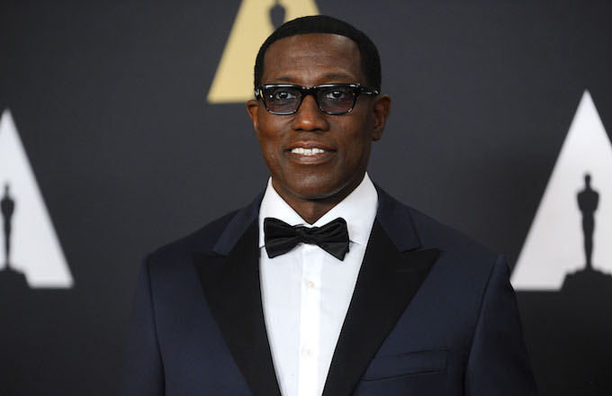 Actor Wesley Snipes attends the 7th annual Governors Awards.