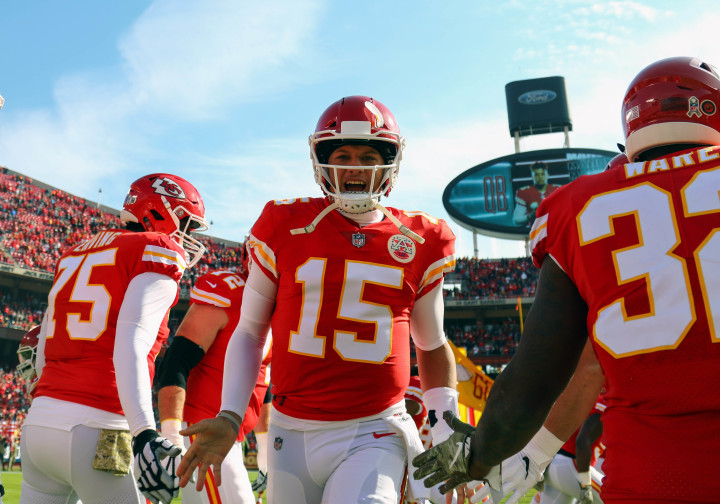 Pat Mahomes Chiefs Intro 2018