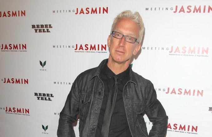 Comedian Andy Dick attends JASMIN's LA Art Show