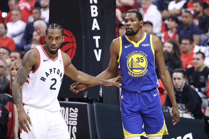 taille 40 17efb 2efcc Kevin Durant and Kawhi Leonard Have Reportedly Discussed ...