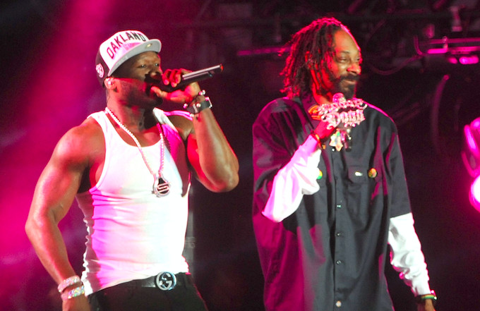 Snoop Dogg and 50 Cent