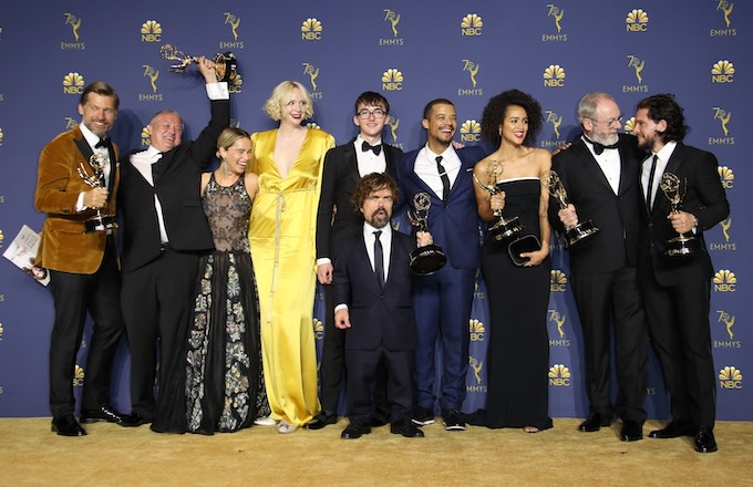 Cast and crew of Game of Thrones.
