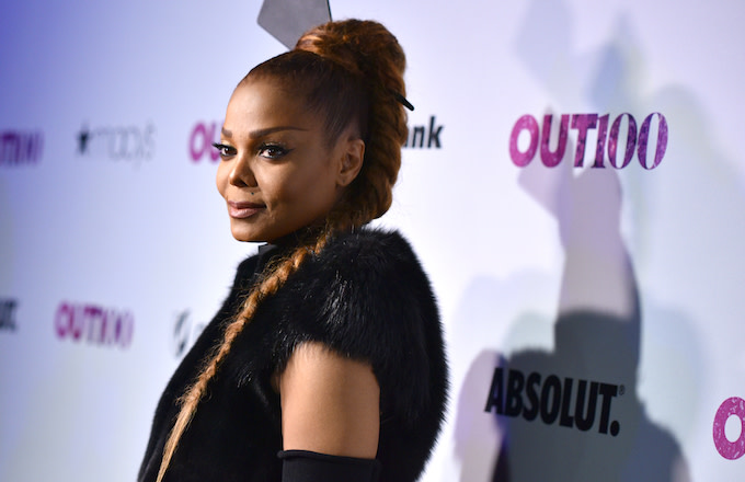 Janet Jackson attends OUT Magazine #OUT100 Event.