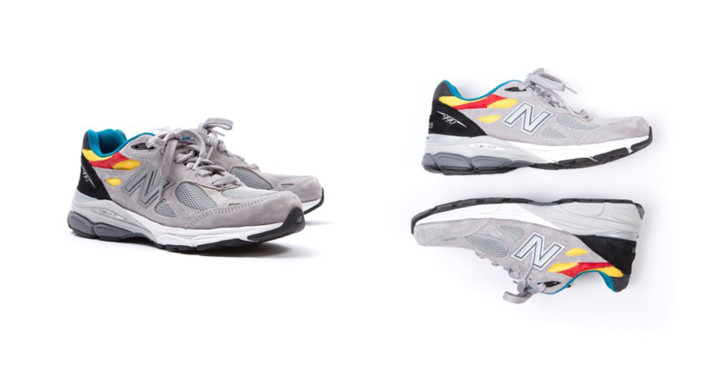 8457acc622 Aries Teams up with New Balance for an Exclusive Footwear ...
