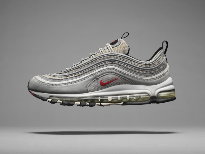 sale retailer 0aa85 f89d6 A Brief History Of The Nike Air Max Series - 1997 Air Max 97