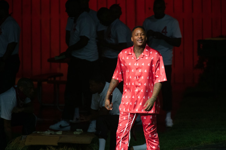 YG at his 4Hunnid fashion show
