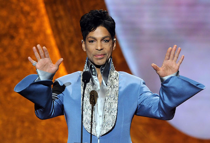 Prince at the NAACP Awards