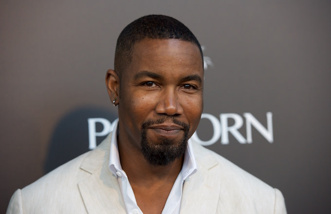 Michael Jai White at the premiere of 'The Perfect Guy'
