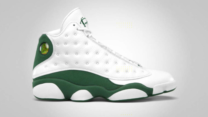 separation shoes 1ad99 263ef Ray Allen Air Jordan 13 Release Story | Complex