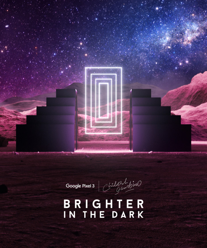 "Childish Gambino x Google ""Brighter in the Dark"""