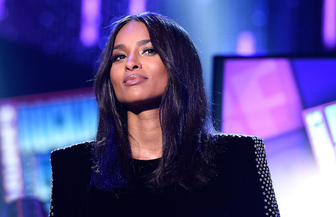 a413929e86cde Ciara Shares Stunning Photos of Herself in All Black Bathing Suit ...