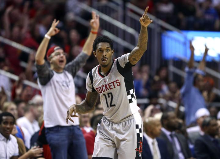 Lou Williams Houston Rockets 2017 Thunder