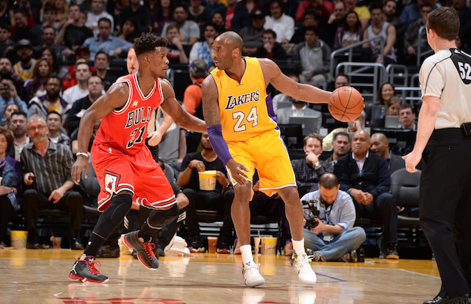 3b7ee4ce Kobe Bryant Says Jimmy Butler's Fiery Wolves Practice Is 'Regular ...