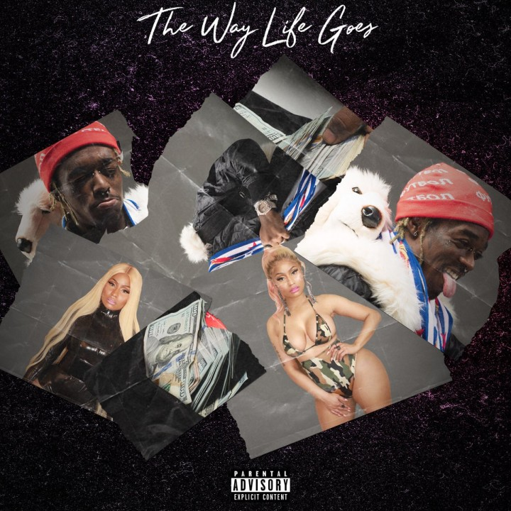 "Nicki Minaj and Lil Uzi Vert ""The Way Life Goes."""