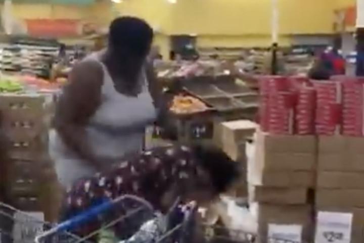 NSFW Video Shows Brawl Breaking Out at Florida Walmart During Hurricane  Matthew Panic