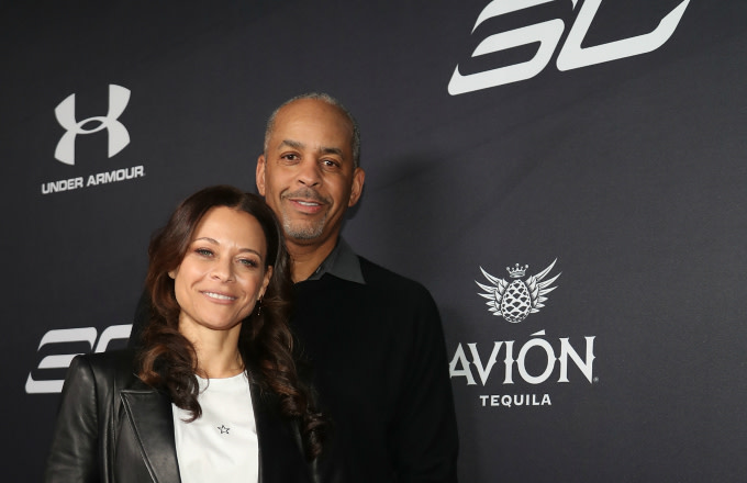 Sonya Curry and Dell Curry Attend Tequila Avion hosts NBA All-Star After Party