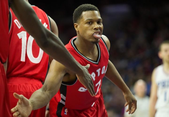 Kyle Lowry Toronto Rapters 76ers 2017