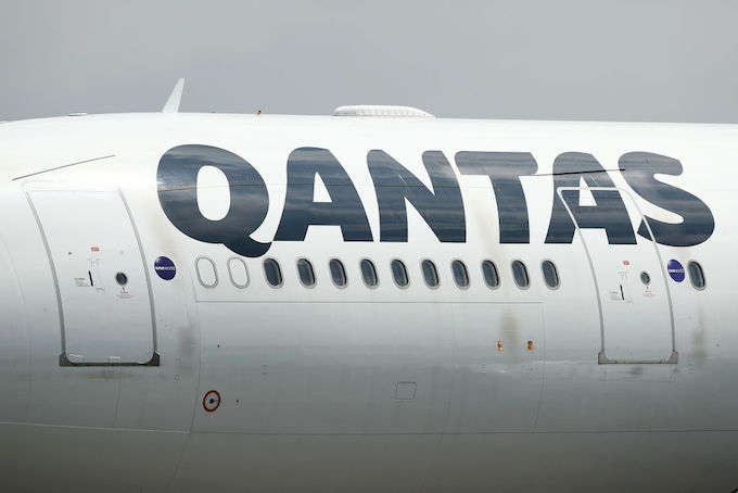 This is a picture of Qantas.