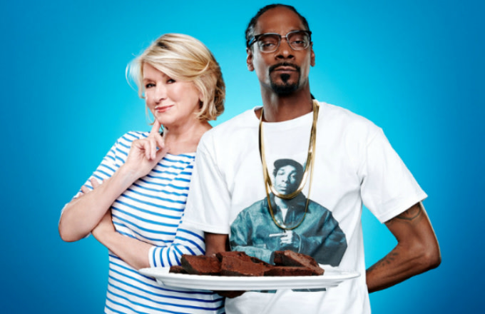 Martha Stewart & Snoop