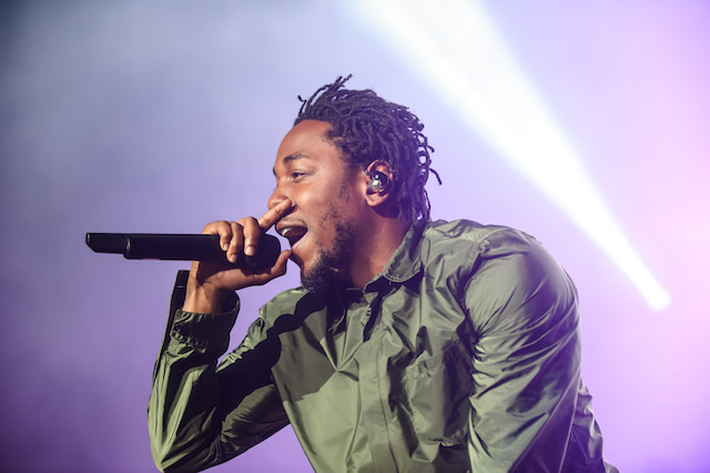 This is a picture of Kendrick Lamar.