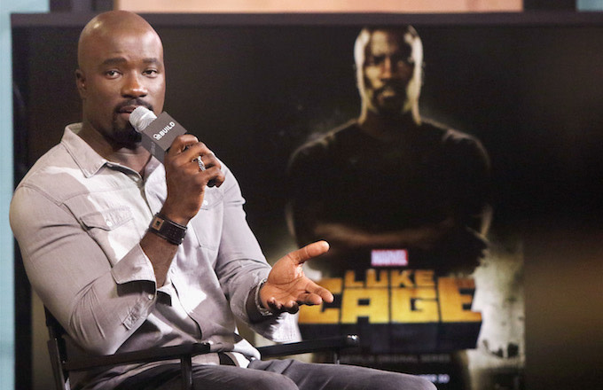 Actor Mike Colter.