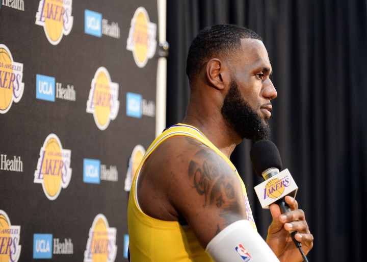 f53772ca87f How LeBron James and Lakers Veterans Dominated Off-Season Pickup Games