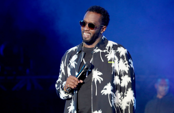 Diddy performs onstage at SOMETHING IN THE WATER