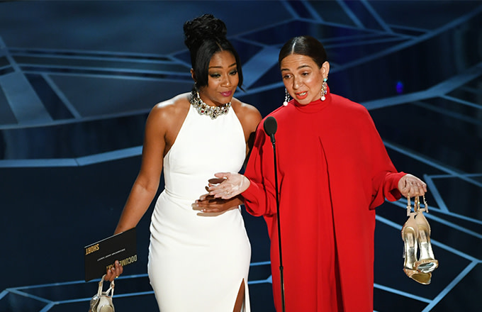 cfeb8b80f Jordan Peele, Tiffany Haddish, and More Unforgettable GIFs From the Oscars