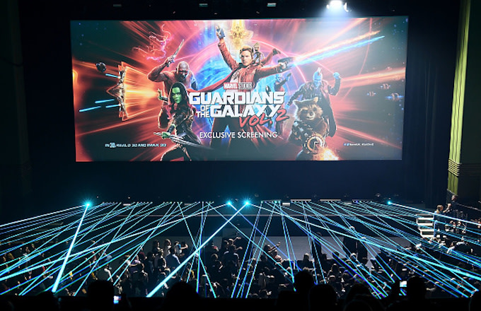 The European launch event of Marvel Studios' 'Guardians of the Galaxy Vol. 2.'