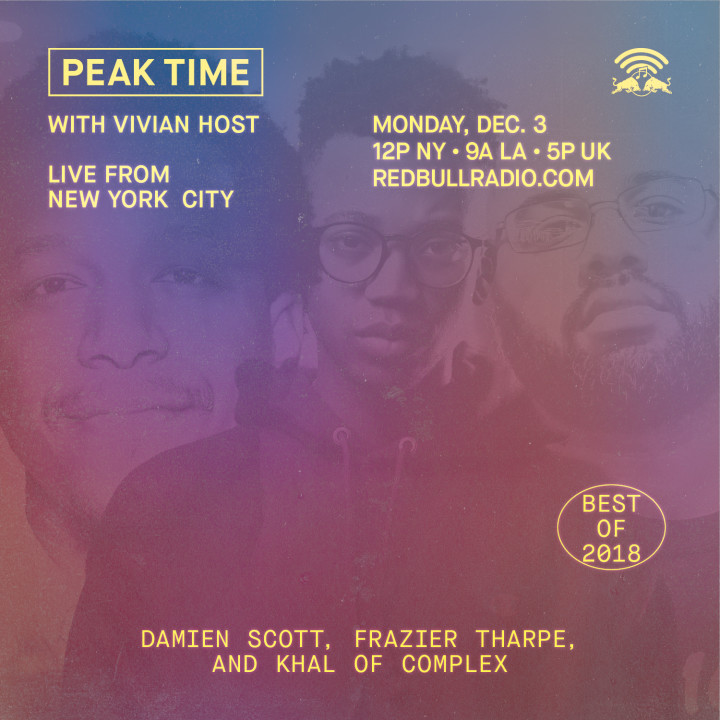 Complex on Peak Time with Vivian Host, Best of 2018
