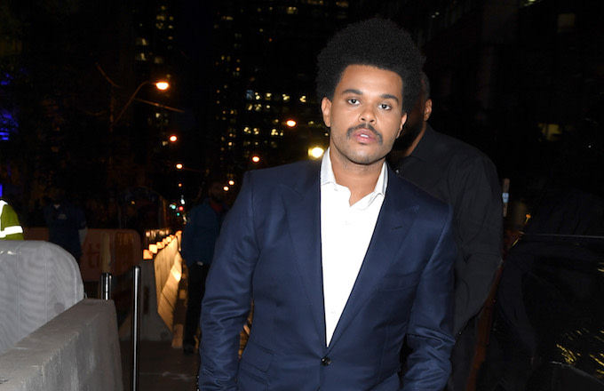 The Weeknd Showed Off His New Look and People Brought the ...