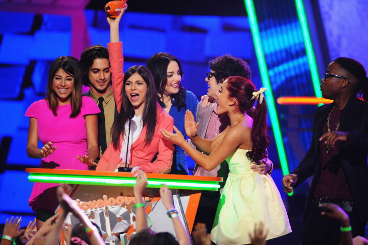 'Victorious' cast at the 2012 Nickelodeon Kids' Choice Awards
