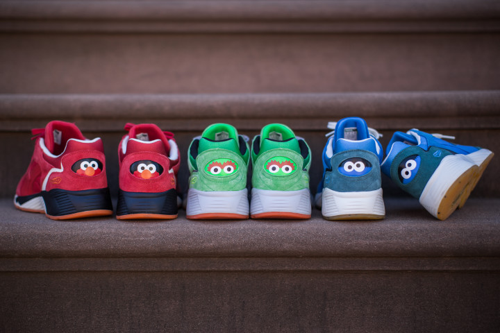 big sale c1cb0 00ded Elmo, Cookie Monster, Oscar the Grouch, and more Sesame ...