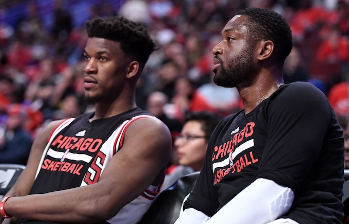Dwyane Wade Fires Back at Jimmy Butler After Thirsty