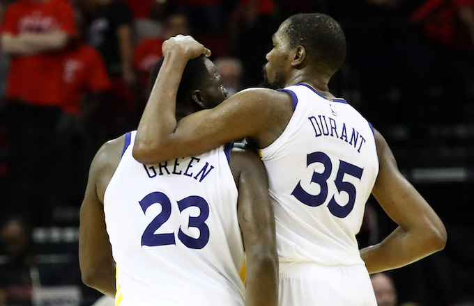 newest 3f14a 51859 Draymond Green and Kevin Durant Reportedly 'Communicating ...