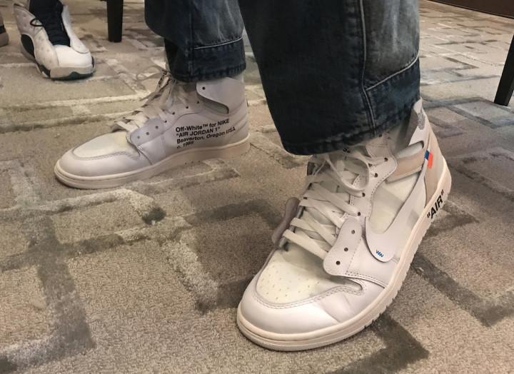 online store 0fd55 4c4d1 Off White Air Jordan 1 AQ0818-100 Release Date | Complex