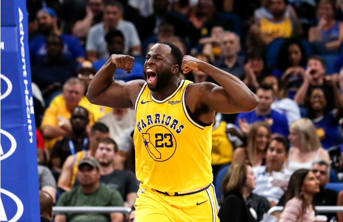 new style 66e24 2bf89 Draymond Green Reportedly Inks 4-Year, $100 Million ...