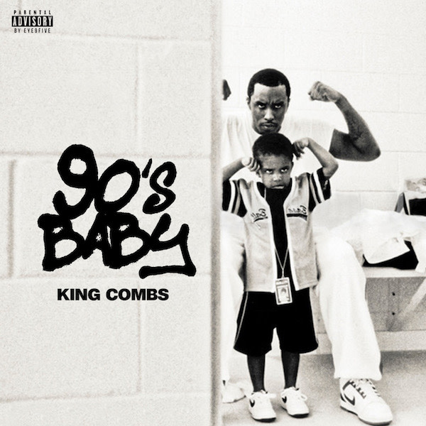 Cover art for King Comb's album '90's Baby'