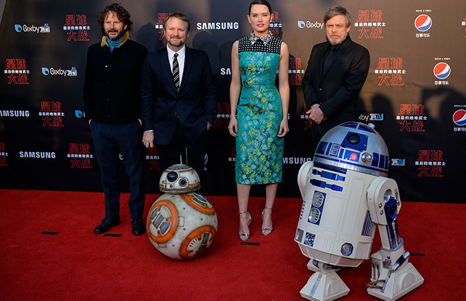 This is a photo of Star Wars.