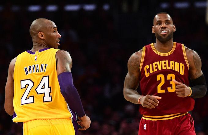 buy popular e098d 8bdad Die-Hard Kobe Fans Tear Into LeBron After He Misses Late ...