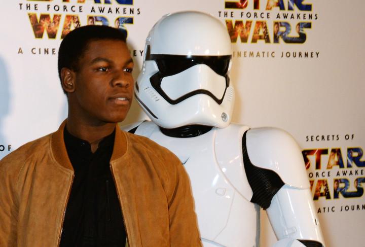 John Boyega Stormtrooper