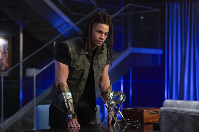 Jordan Calloway in 'Black Lightning'