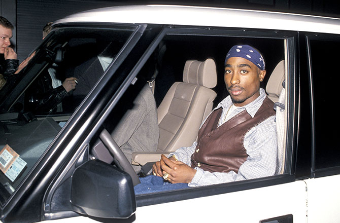This is a photo of 2Pac.