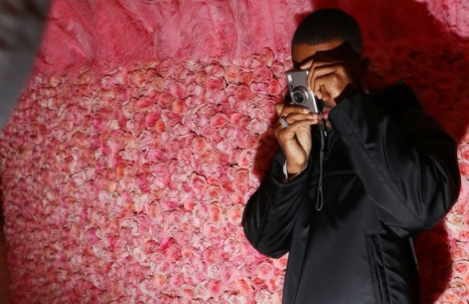 Frank Ocean Launching Club Night Prep In New York City