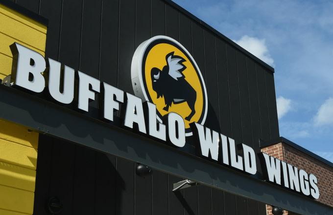 Buffalo Wild Wings exterior on February 1, 2018 in Jacksonville, Florida