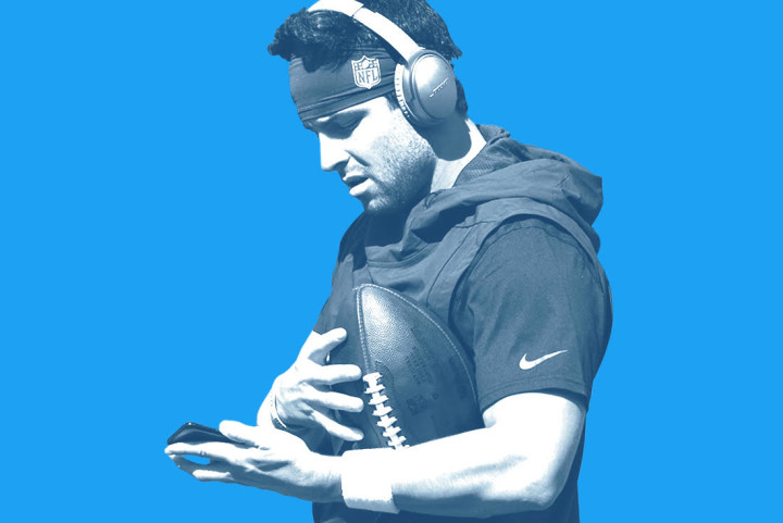 Baker Mayfield Twitter Blue USA TODAY Sports 2018