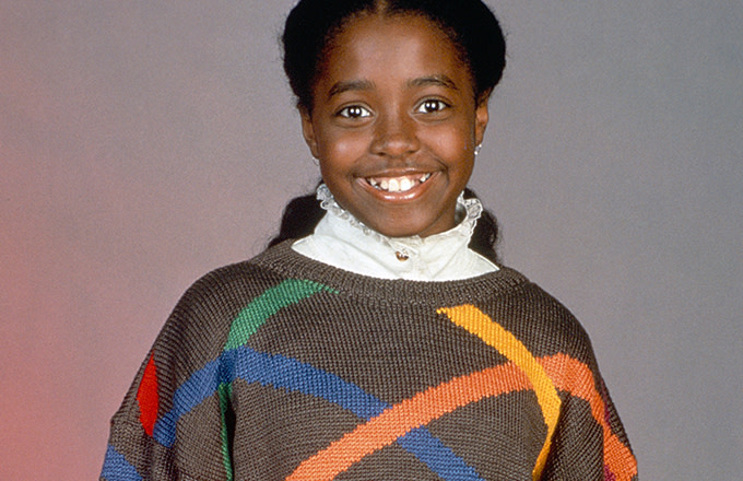 Keshia Knight Pulliam as Rudy Huxtable.