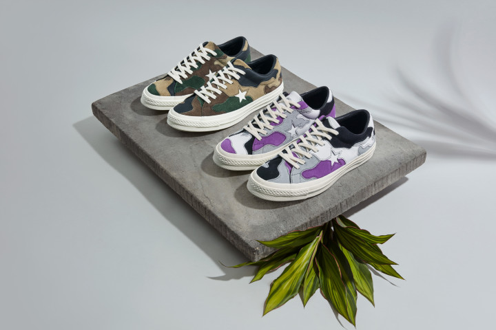 nouveau concept 97766 7b4e0 Converse and Sneakersnstuff Are Set to Launch a Military ...